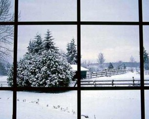 Winter window wash cold climate glass cl allspar for Windows for cold climates